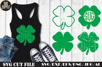 Shamrock St. Patrick's SVG Cut File