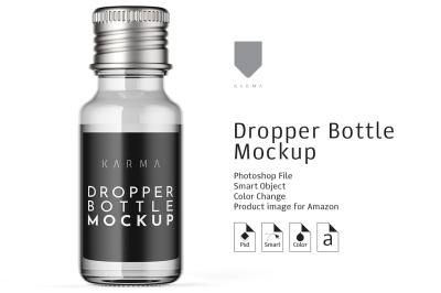 Dropper Bottle Mockup3