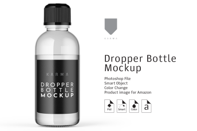 Dropper Bottle Mockup 2