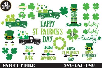 St. Patrick's Day Bundle SVG Cut File