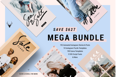 Mega Bundle 2018 Items - 95% OFF