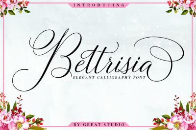 Bettrisia Script - Elegant Calligraphy Font