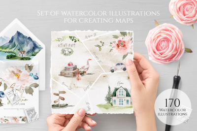 Erin. Map creator. Over 170 illustrations