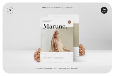 MARUNE Modest Fashion Lookbook