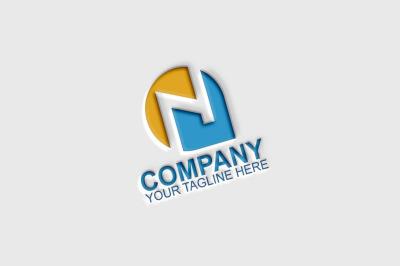 N Letter Logo Template