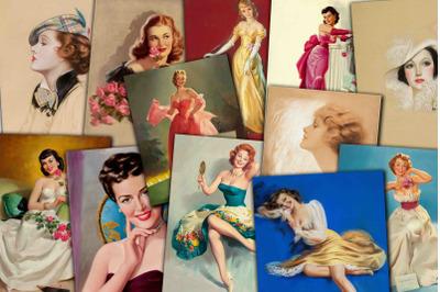 Vintage Women Portraits