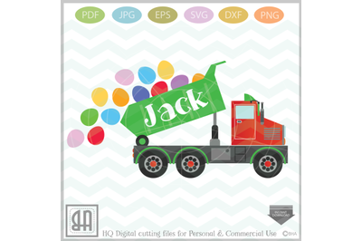 Easter Truck svg - Dump truck svg - EasterTruck - truck svg
