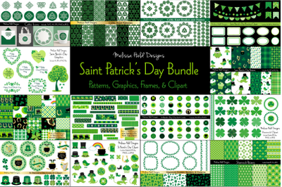 Saint Patrick's Day Graphics Bundle