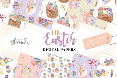 Easter Egg Seamless Patterns Spring
