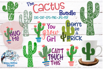 The Cactus SVG Bundle