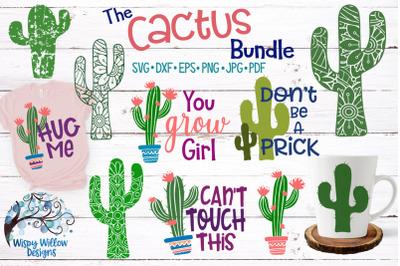 The Cactus SVG Bundle