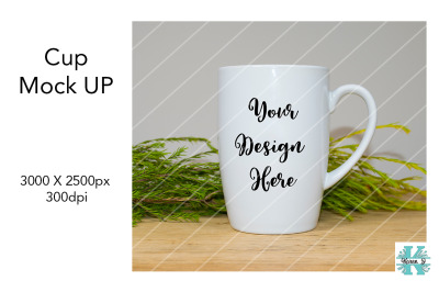 Cup Mock Up - Tall