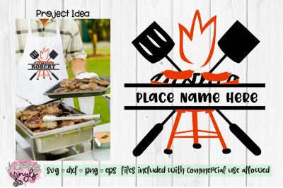 BBQ Design to Personalize -  A Summer SVG