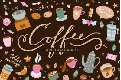 Coffee Illustrations & Patterns