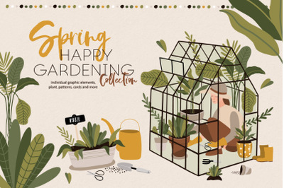 Spring - Happy gardening collection