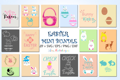 Easter bundle / easter svg bundle / easter cute bundle / easter vector