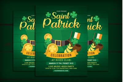 Saint Patrick Day Celebration