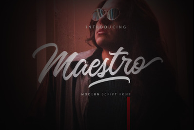Maestro Script - FONT