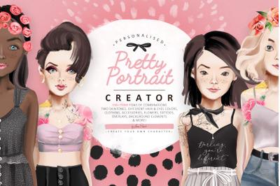 Pretty Portrait Creator