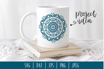 Mandala SVG, DXF, EPS, PNG, JPEG