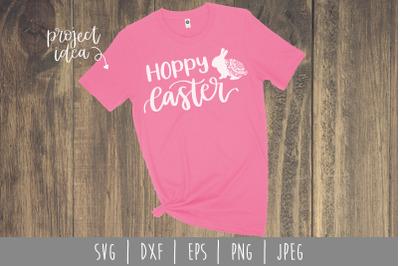 Hoppy Easter SVG, DXF, EPS, PNG, JPEG