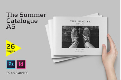 The Summer Catalogue A5