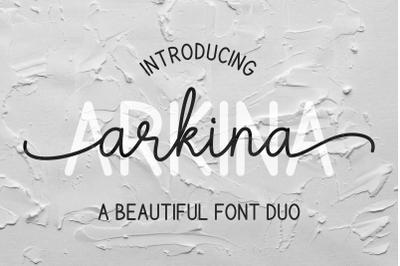 Arkina Font Duo