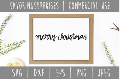 Merry Christmas SVG, DXF, EPS, PNG, JPEG