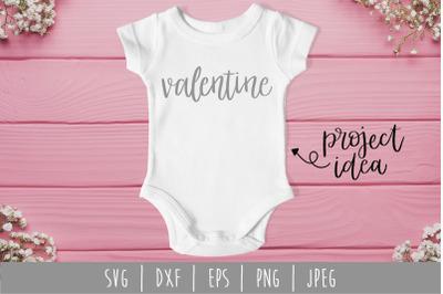 Valentine SVG, DXF, EPS, PNG, JPEG