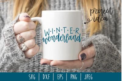 Winter Wonderland SVG, DXF, EPS, PNG, JPEG