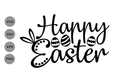 Happy Easter SVG, Easter svg, Jesus svg, Easter Bunny svg.