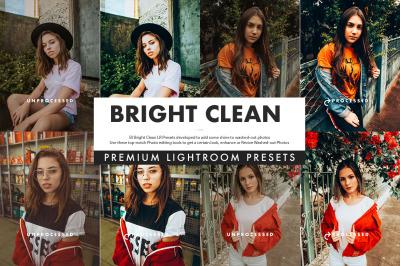 Bright Clean Lightroom Presets