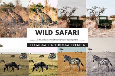 Wild Safari Lightroom Presets
