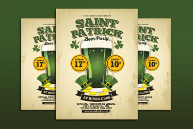 St Patrick Day Beer Party