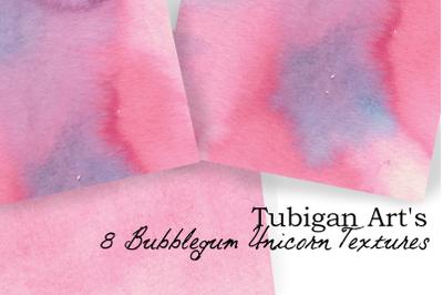 8 Yummy Bubblegum Unicorn textures
