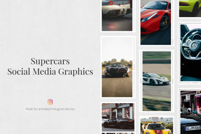 Supercars Animated Instagram Stories