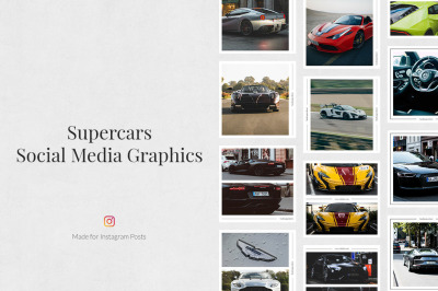 Supercars Instagram Posts