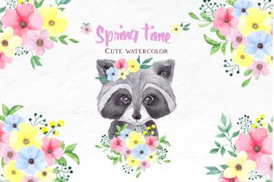Cute spring