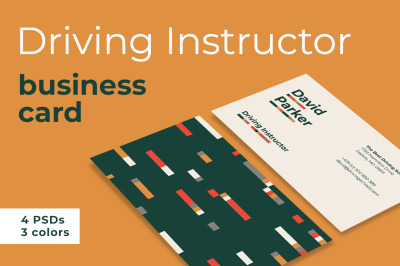Driving Instructor Business Cards