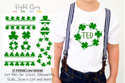 St Patrick's day / Clover / Shamrock designs