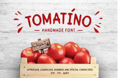 Tomatino - Handmade Font