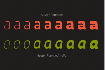 Auster Rounded