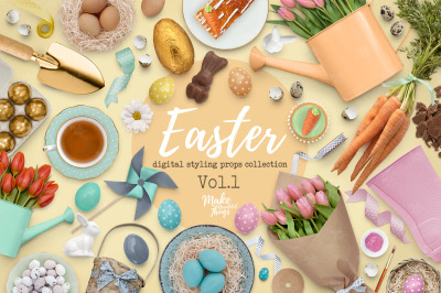 Easter Scene Creator Vol. 1