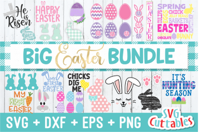 Big Easter SVG Bundle