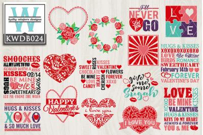 BUNDLE Valentines KWDB024
