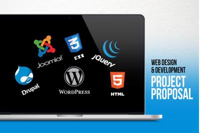 Web Design & Development Project Proposal PowerPoint Template