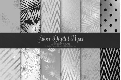 Silver Digital Paper