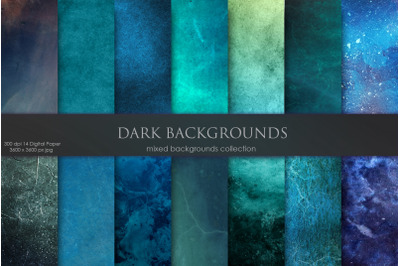 Dark and Navy Old Backgrounds