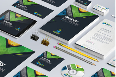 Business Mega Stationery Branding Identity Pack