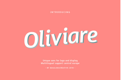 Oliviare Typeface